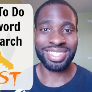 How To Do Keyword Research FAST - Google Keyword Planner