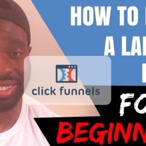 Landing Page - How To Make A Landing Page For Beginners