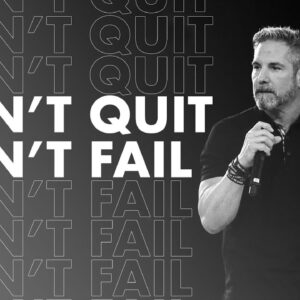 The Can't Fail Rule - Grant Cardone