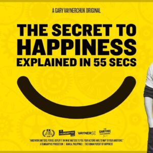 The Secret to Happiness Explained in 55 Seconds
