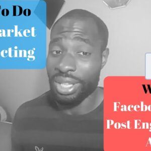 How To Do Cold Market Prospecting With Facebook Page Post Engagement Ads