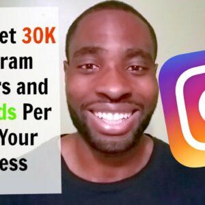 How To Get 30,000+ Instagram Followers | KILLER Instagram Marketing Strategy
