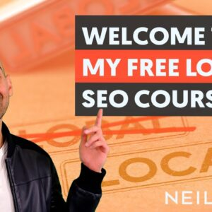 Welcome to my FREE Local SEO Course - Local SEO Unlocked - Module 1 - Lesson 1