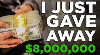$8,000,000 Give Away  by Undercover Billionaire - Grant Cardone