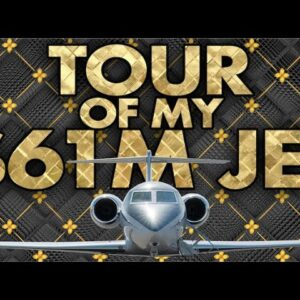 Tour of My $61M Jet - Grant Cardone