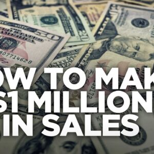 How to make $1 Million in Sales - Young Hustlers with Grant Cardone