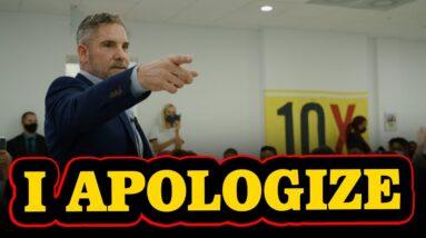 I Apologize in Advance