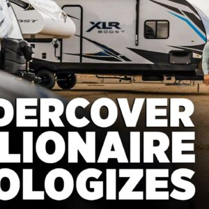 Undercover Billionaire Apologizes