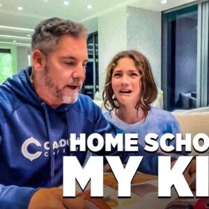 Undercover Billionaire Home Schooling his Daughter