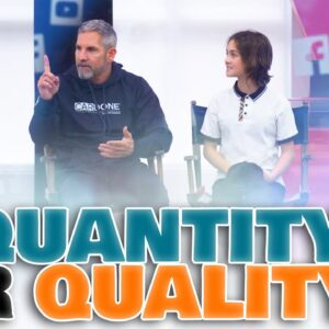 Undercover Billionaire on Quantity VS Quality -