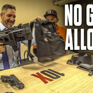 Grant Cardone BUSTED for Carrying Concealed Weapons