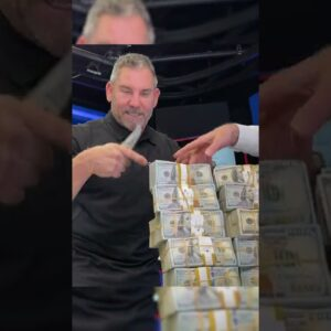 This is what $1,000,000 looks like - Grant Cardone #shorts