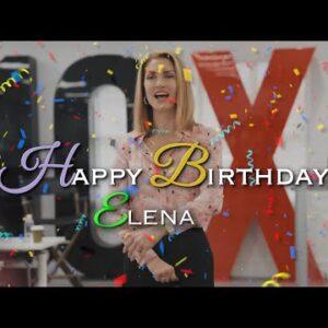 Today is My Wife Elena's Birthday!!