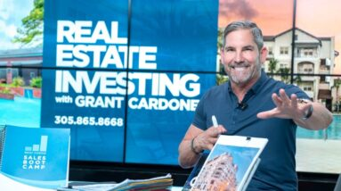 Real Estate Investing with Grant Cardone LIVE at 12PM EST