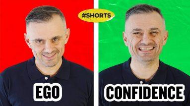 EGO VS CONFIDENCE #SHORTS