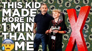 This 13yr old kid made $1,800 on my stage in 2 min - Grant Cardone